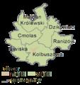 Podkarpackie - kolbuszowski county gminas.png