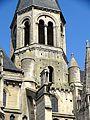 Poissy (78), collégiale Notre-Dame, clocher central, vue depuis le sud-ouest.jpg