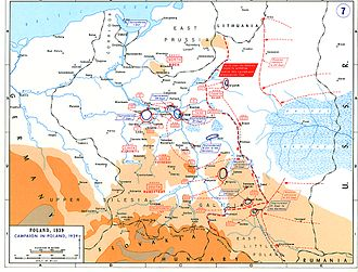 Soviet invasion of Poland - Image: Poland 1939 after 14 Sep