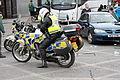 Police motorcyclist, Downpatrick, March 2010.JPG