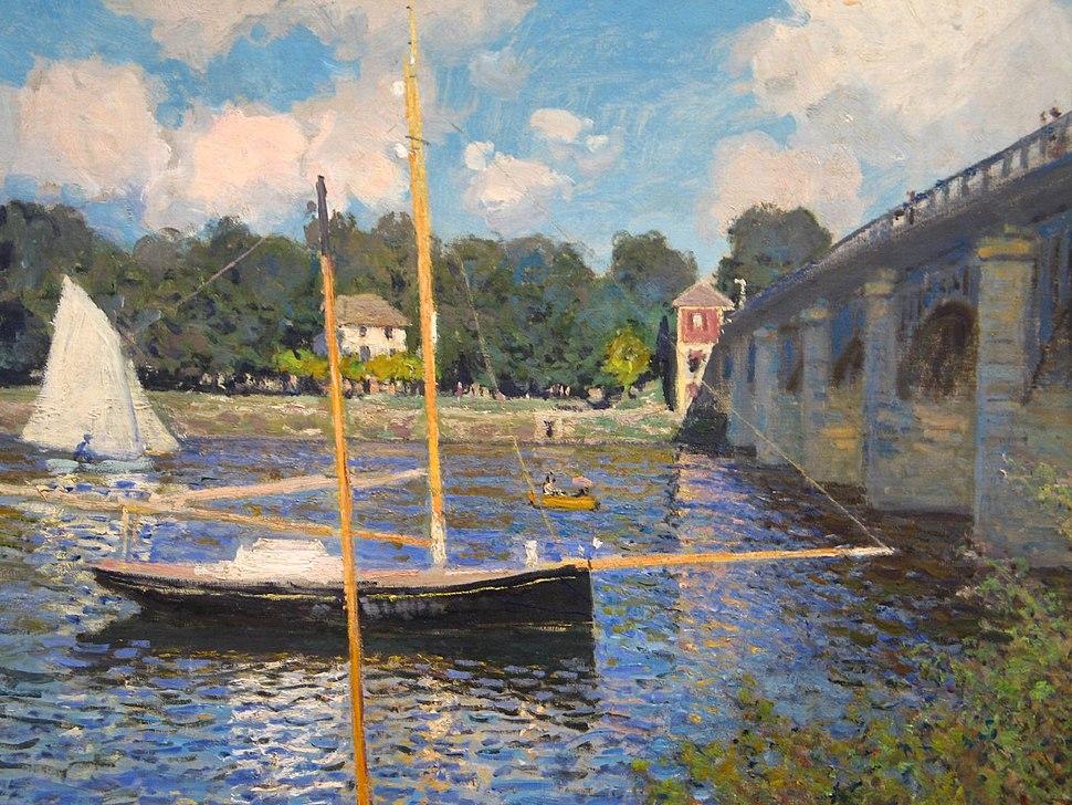 Pont Argenteuil Monet 1