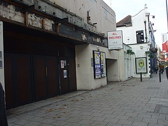 Hammersmith Palais - The Palais in 2008, awaiting its ultimate fate after being closed.