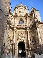 Hauptportal der Kathedrale von Valencia. (Quelle: Wikimedia)