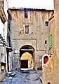 Porte Bauduine, vue de l'intérieur de la cité ancienne.jpg