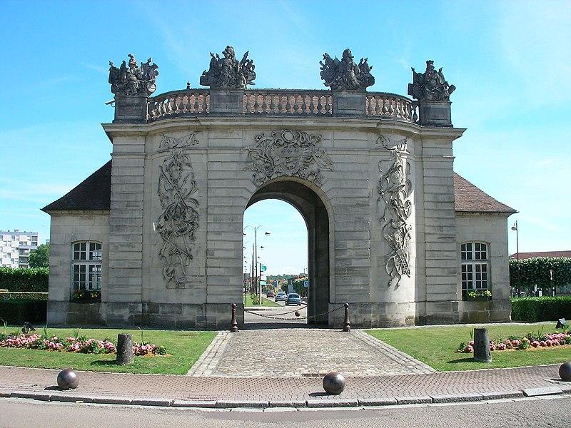 Porte du Pont (Vitry-le-François, Marne, France)