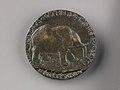 Portrait medal of Isotta degli Atti (obverse); An Elephant (reverse) MET SLP1284v.jpg