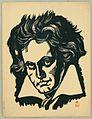 Portrait of Beethoven by Koizumi Kishio.jpg
