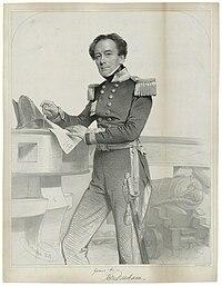 Portrait of Captain Sir Henry Mangles Denham by Charles Baugniet, 1849.jpg