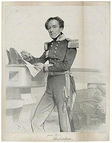 Portrait of Captain Sir Henry Mangles Denham by Charles Baugniet, 1849.jpg