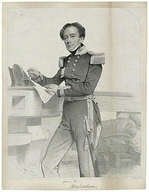 Henry Mangles Denham - Henry Mangles Denham (1849) by Charles Baugniet