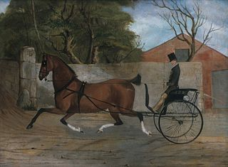 Portrait of a Gentleman in a Carriage