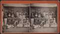 Portrait of a theatrical group, from Robert N. Dennis collection of stereoscopic views.png