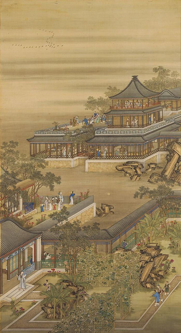 Portraits of the Yongzheng Emperor Enjoying Himself during the 8th lunar month