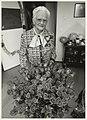 Portret van Rie Burgers t.g.v. haar 100e verjaardag. NL-HlmNHA 54031951.JPG