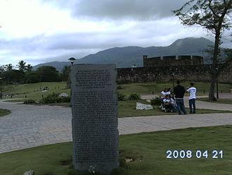 Birgenair Flight 301 - Memorial for the victims of Birgenair Flight 301 in Puerto Plata