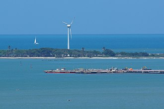 Economy of Brazil - Renewable energy in Fortaleza.