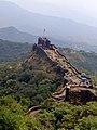 Pratapgad Fort 5 layered mountain view.jpg