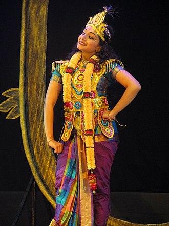 """Prateeksha Kashi - Prateeksha Kashi playing Lord Krishna in """"PARAMPARA"""""""