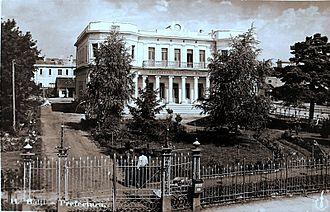 Bălți County (Romania) - The Prefecture of Bălţi County building from the interwar period.