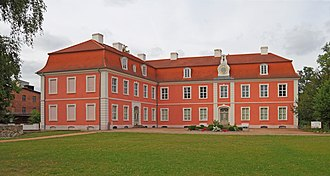 Gans zu Putlitz - Wolfshagen Manor, until the Soviet expropriation in 1945 held by the family.
