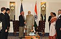 Prime Minister Modi meets former New York Mayor Michael Bloomberg.jpg