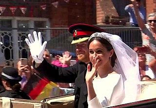 Wedding of Prince Harry and Meghan Markle Wedding of British royal Prince Harry to Meghan Markle