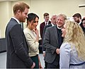 Prince Harry and Ms Markel attend 'Amazing The Space' event. (40075892725).jpg