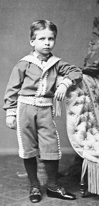 Prince Waldemar of Prussia (1868–1879) - Image: Prince Waldemar of Prussia