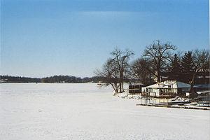 Prior Lake, Minnesota - View of Prior Lake during winter