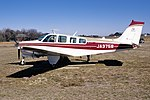 Private Beechcraft A36 Bonanza (JA3758-E828) (14344761757).jpg