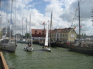 Private boats in Klaipeda