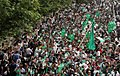 Pro-Mousavi demonstration, Azadi square - 11 June 2009 (23 8803201547 L600).jpg
