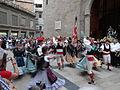 Processó de Sant Bartomeu - 15 Agrupació Folklòrica Igualadina - Galop La Gitana.JPG