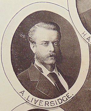 Archibald Liversidge - Image: Professor Archibald Liversidge