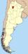 Lage der Provinz Tucumán