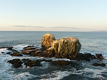 The Punta de Lobos rocks.