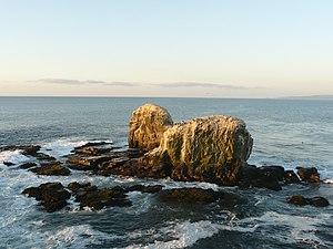 The Punta de Lobos rocks.