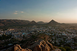 Pushkar from above