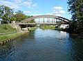 Puybarban, Gironde, pont de Puybarban sur le canal latéral à la Garonne.JPG