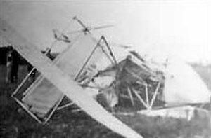 Frank S. Scott - The crashed plane