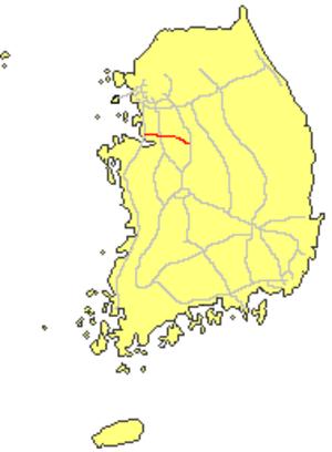 Pyeongtaek–Jecheon Expressway - Image: Pyeongtaek Chungju expressway