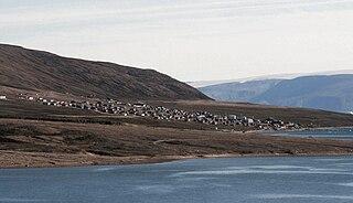 Qaanaaq Place in Greenland, Kingdom of Denmark