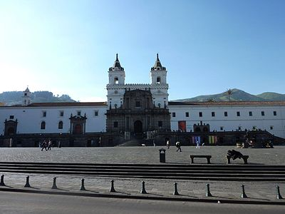 Church of San Francisco, Quito - Ecuador.