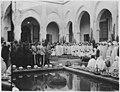 Réception des notables de la ville par le général Lyautey - Fès - Médiathèque de l'architecture et du patrimoine - AP62T089237.jpg