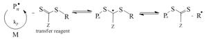 Reversible-deactivation radical polymerization - Reversible chain transfer