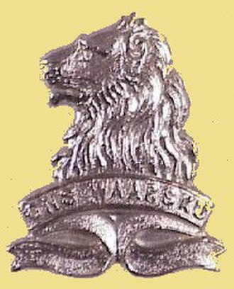 Regiment de la Rey - Image: REGIMENT DE LA REY BADGE