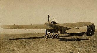 Nieuport IV - Nieuport IV.G of the Air Battalion Royal Engineers serialled B4.