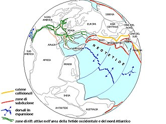 Geology of the North Sea - Image: RHAETIC EARTH