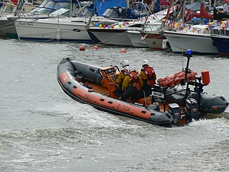 Atlantic 75-class lifeboat - Atlantic 75 B-704 during a demonstration in 2009