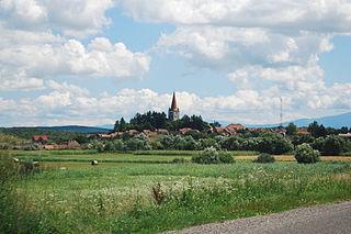 Cincu Commune in Brașov, Romania